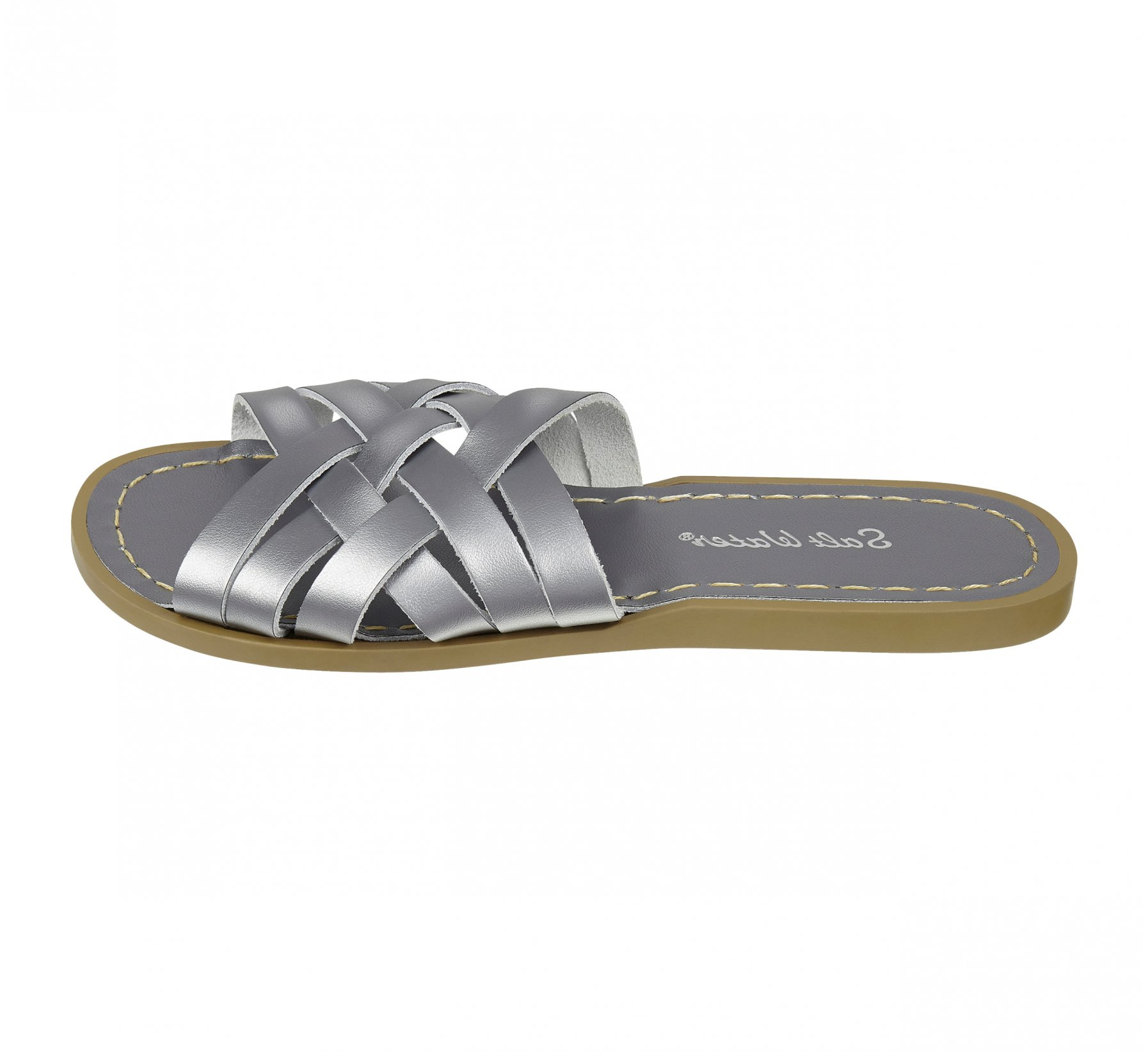 Retro Slide Gris Acier - Salt Water Sandals