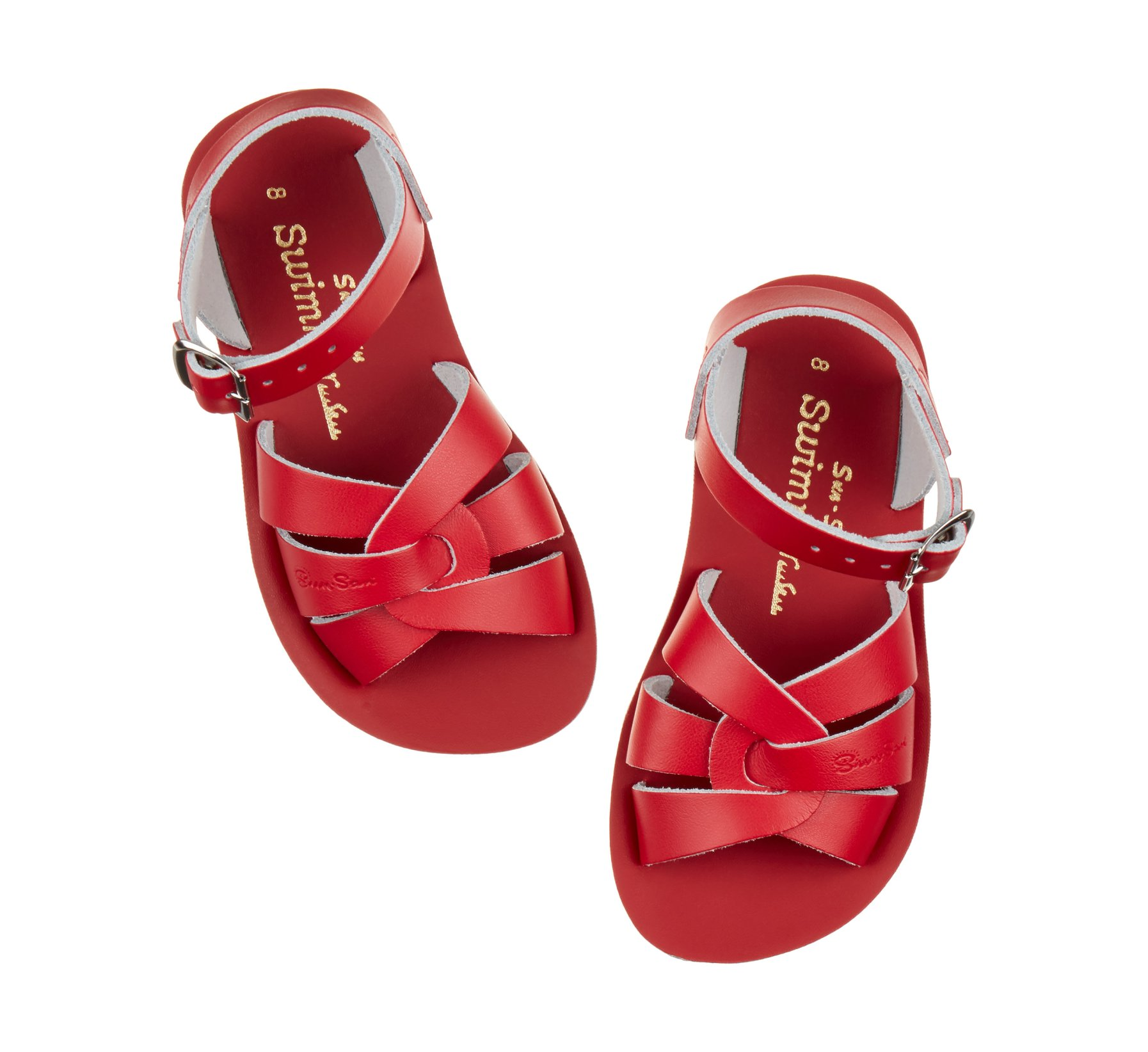 Swimmer in Rot - Salt Water Sandals