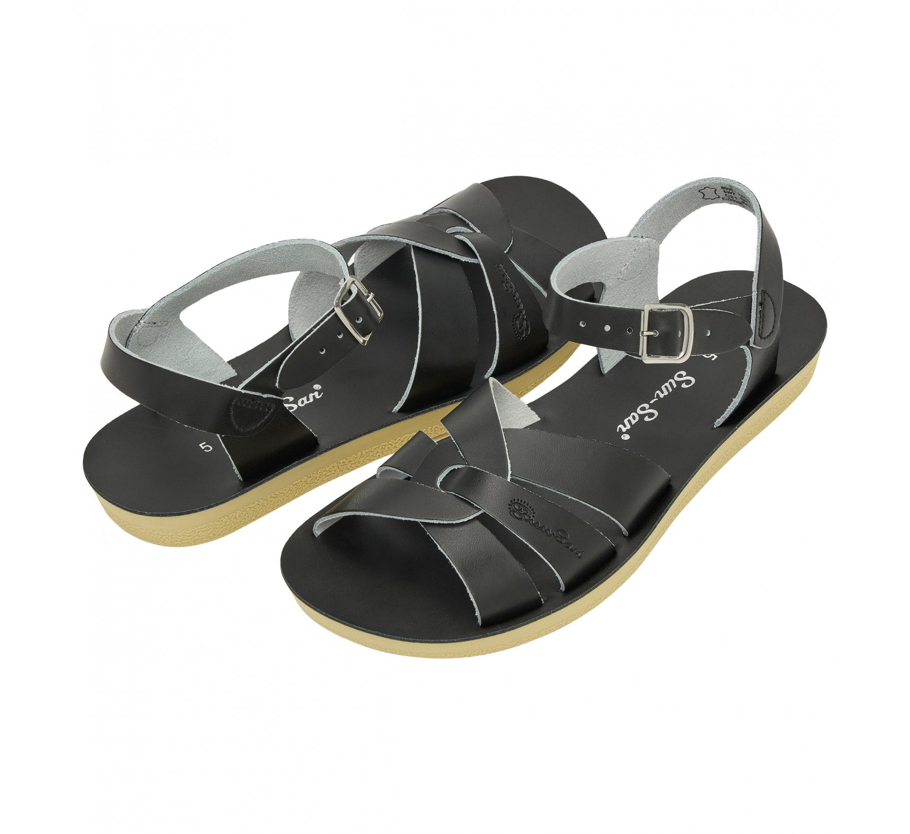 Swimmer Black - Salt Water Sandals