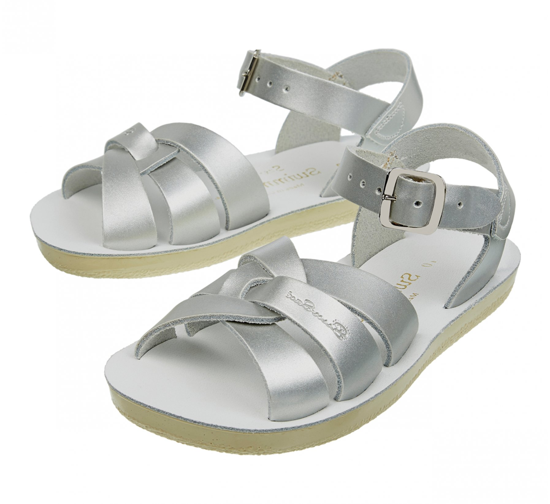 Swimmer Silver  - Salt Water Sandals