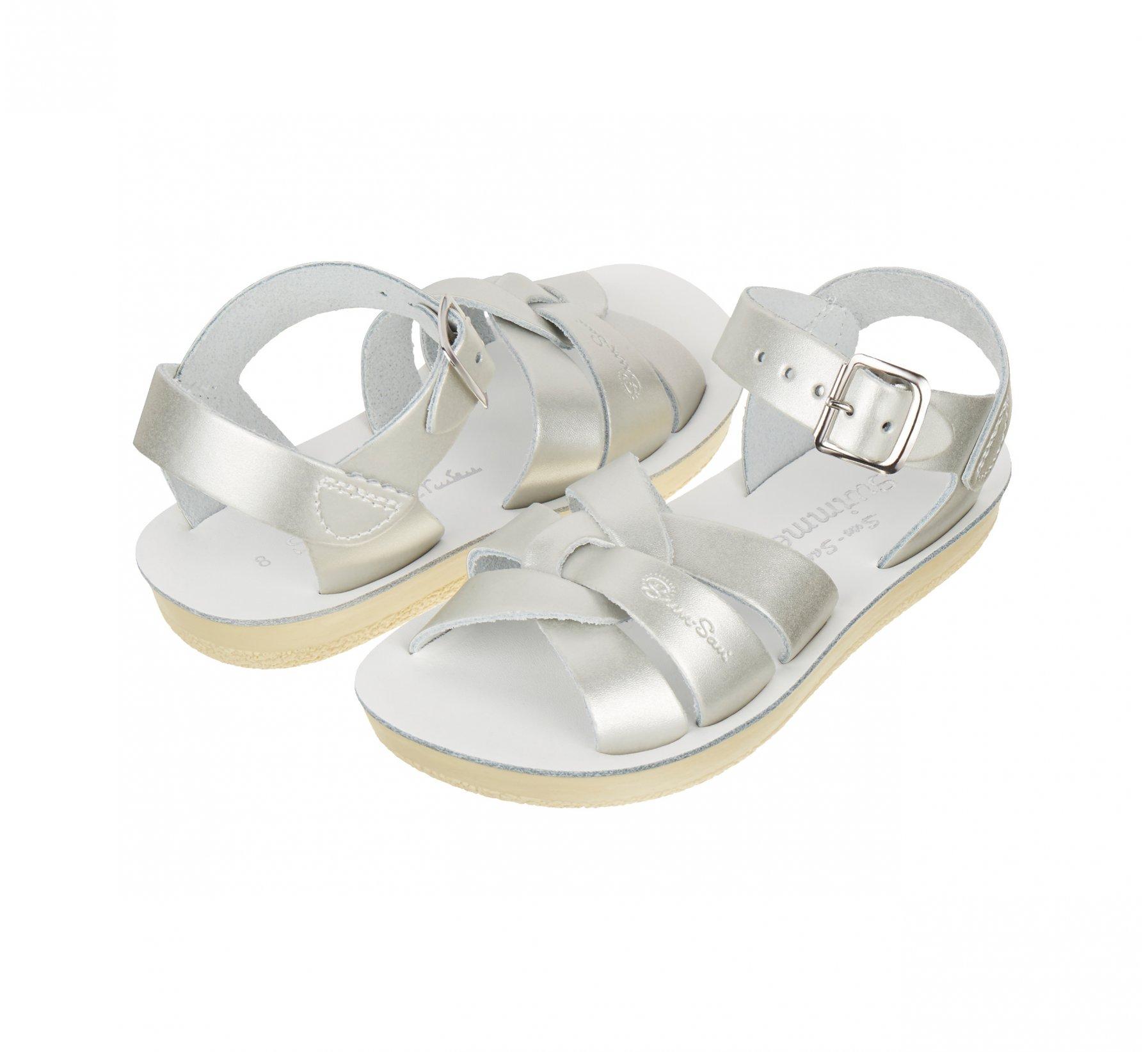 Swimmer Silver  - Salt Water Sandals