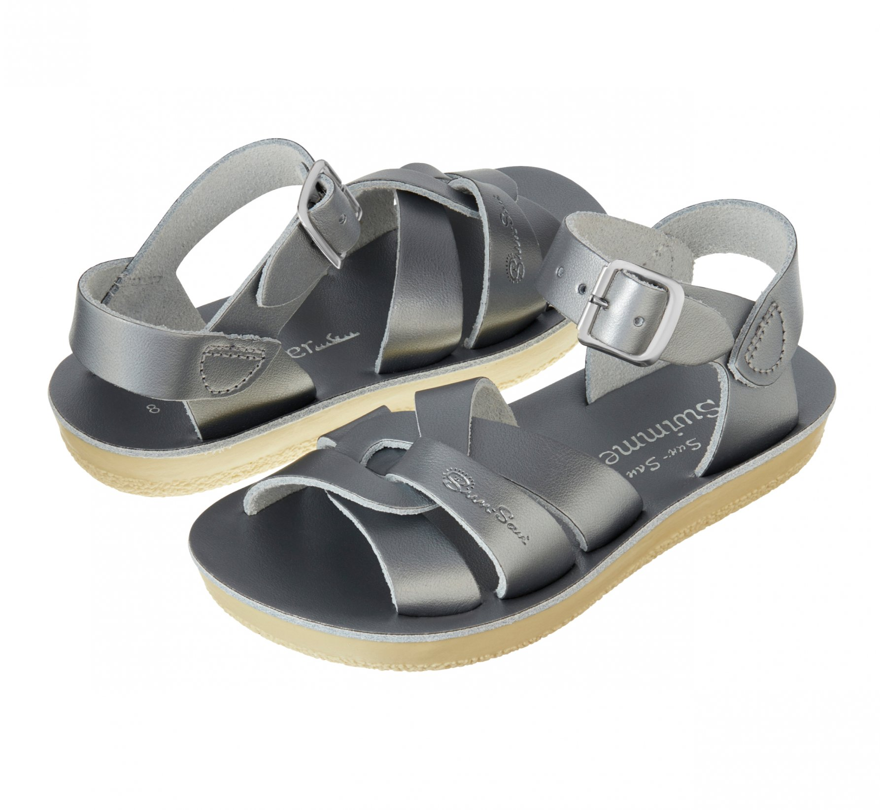 Swimmer Pewter  - Salt Water Sandals