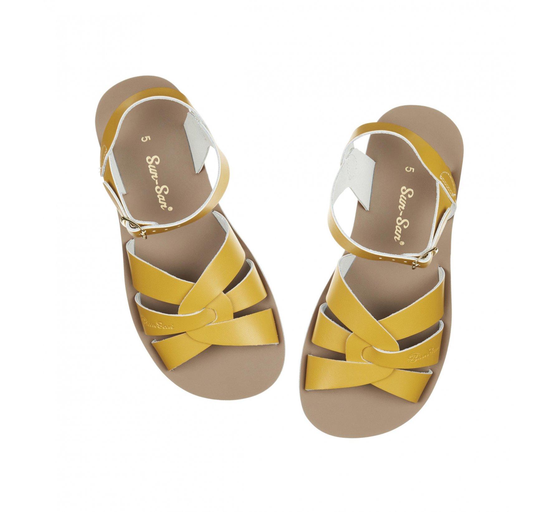 Swimmer Mustard - Salt Water Sandals