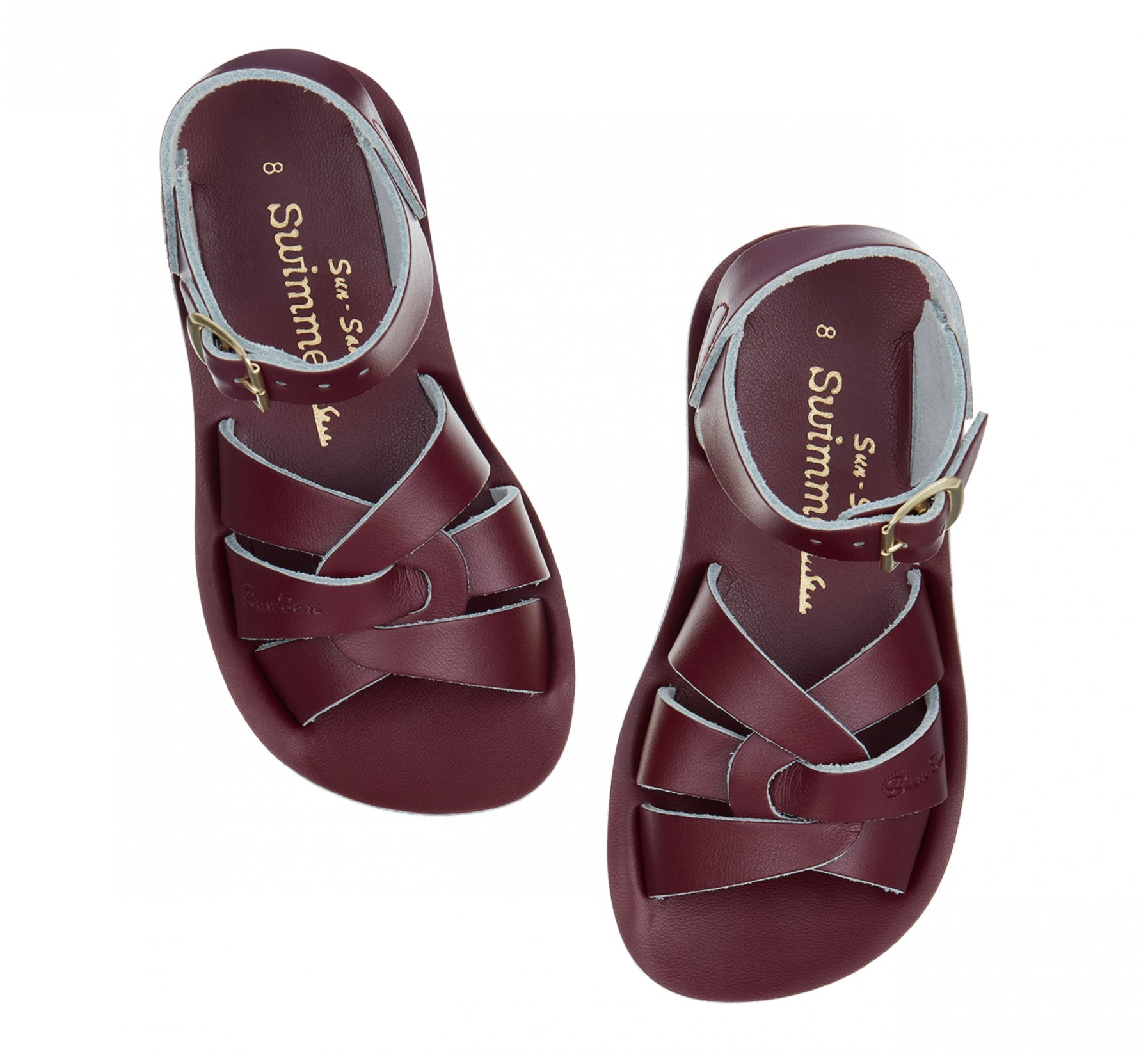 Swimmer Claret  - Salt Water Sandals