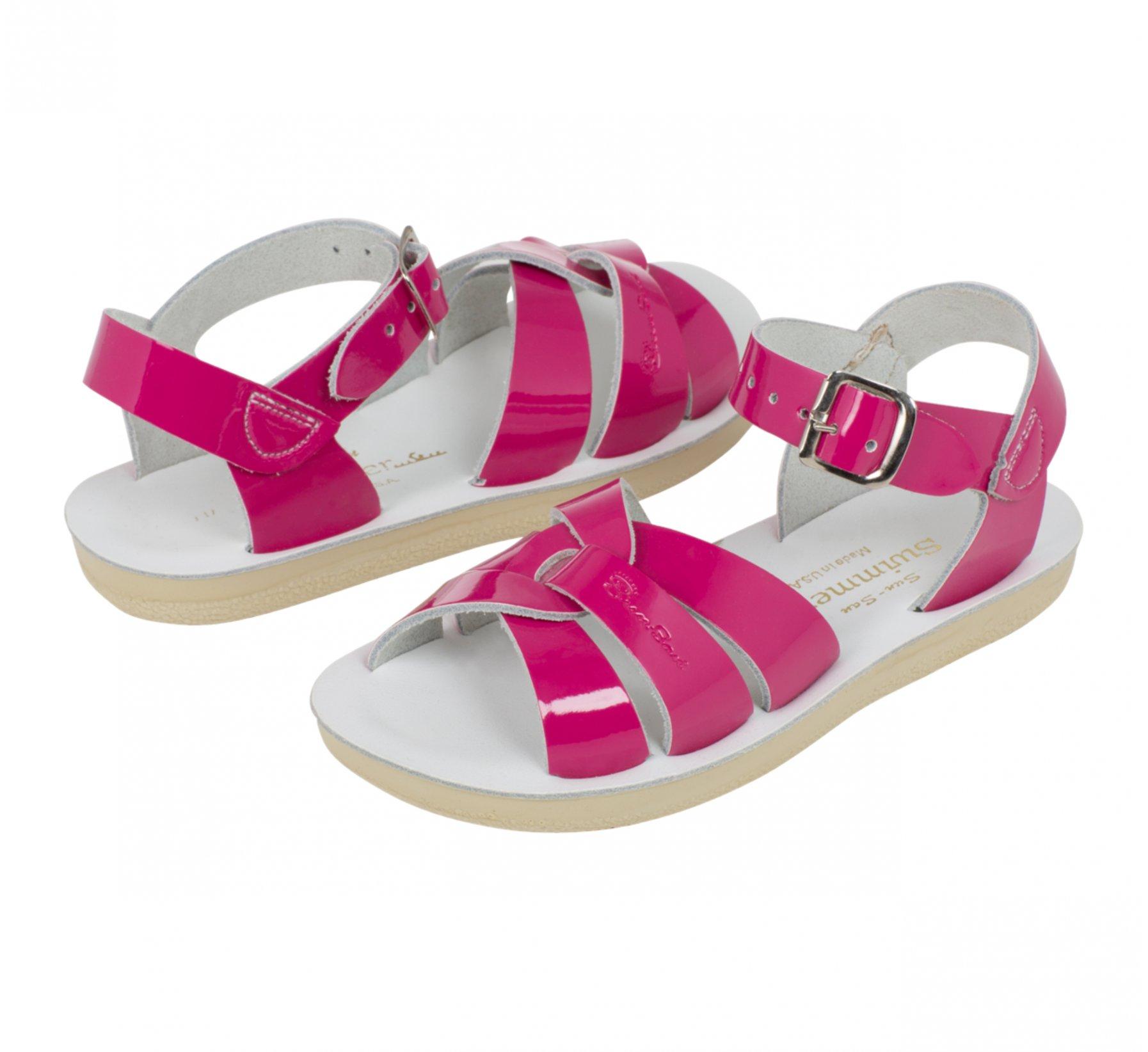 Swimmer Fuchsia Berkilat - Salt Water Sandals