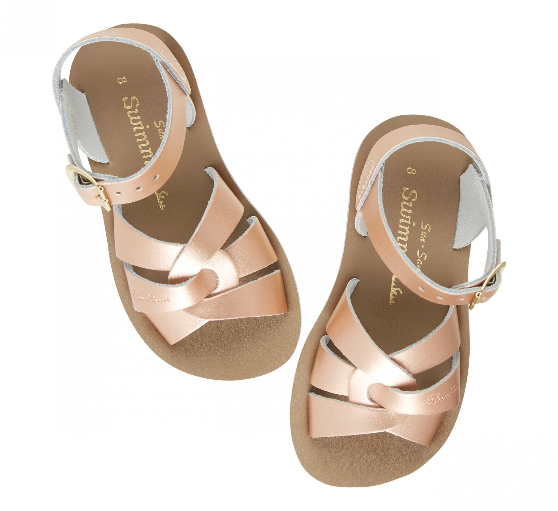 Swimmer in Roségold - Salt Water Sandals