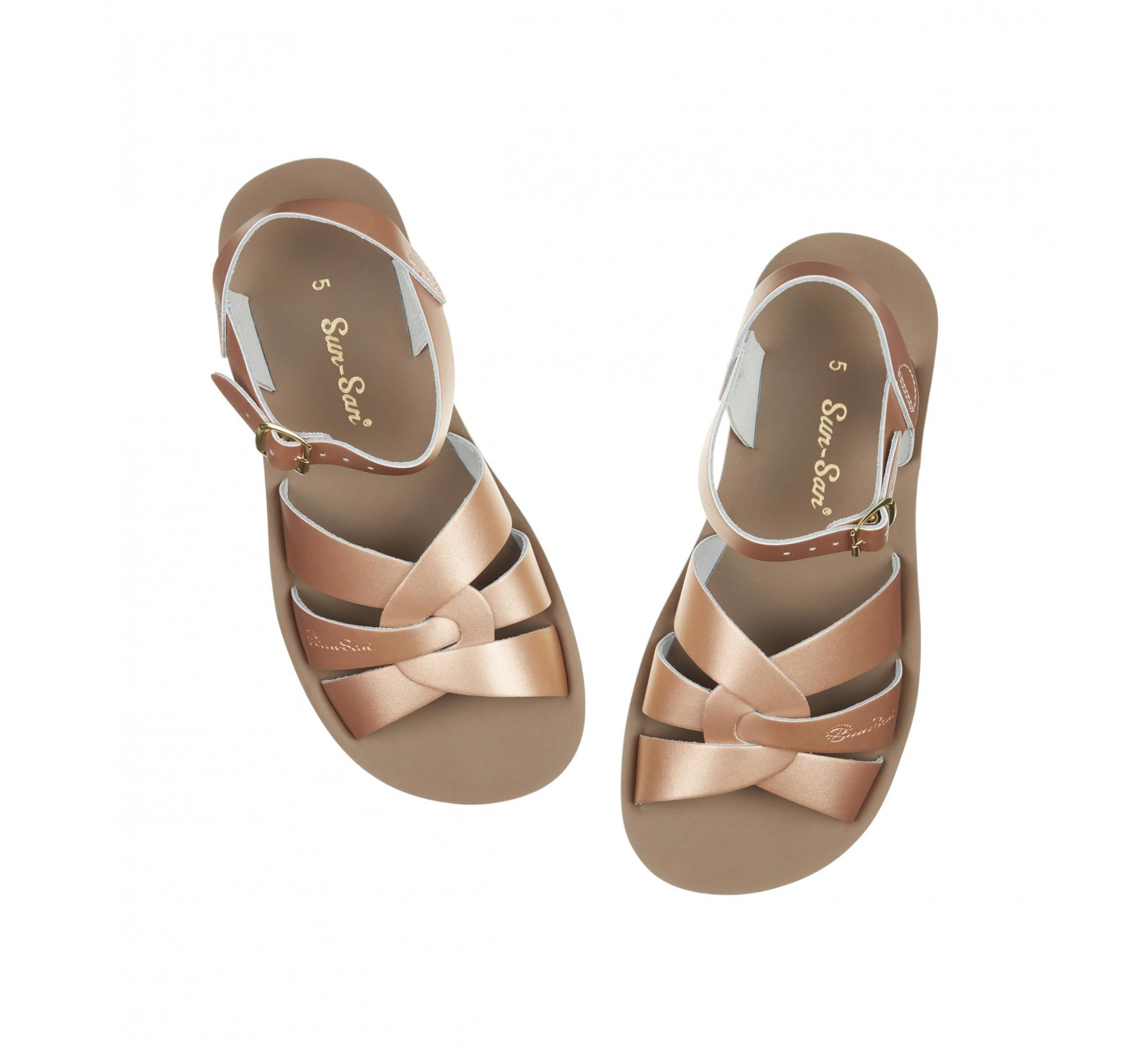 Swimmer Rose Gold - Salt Water Sandals