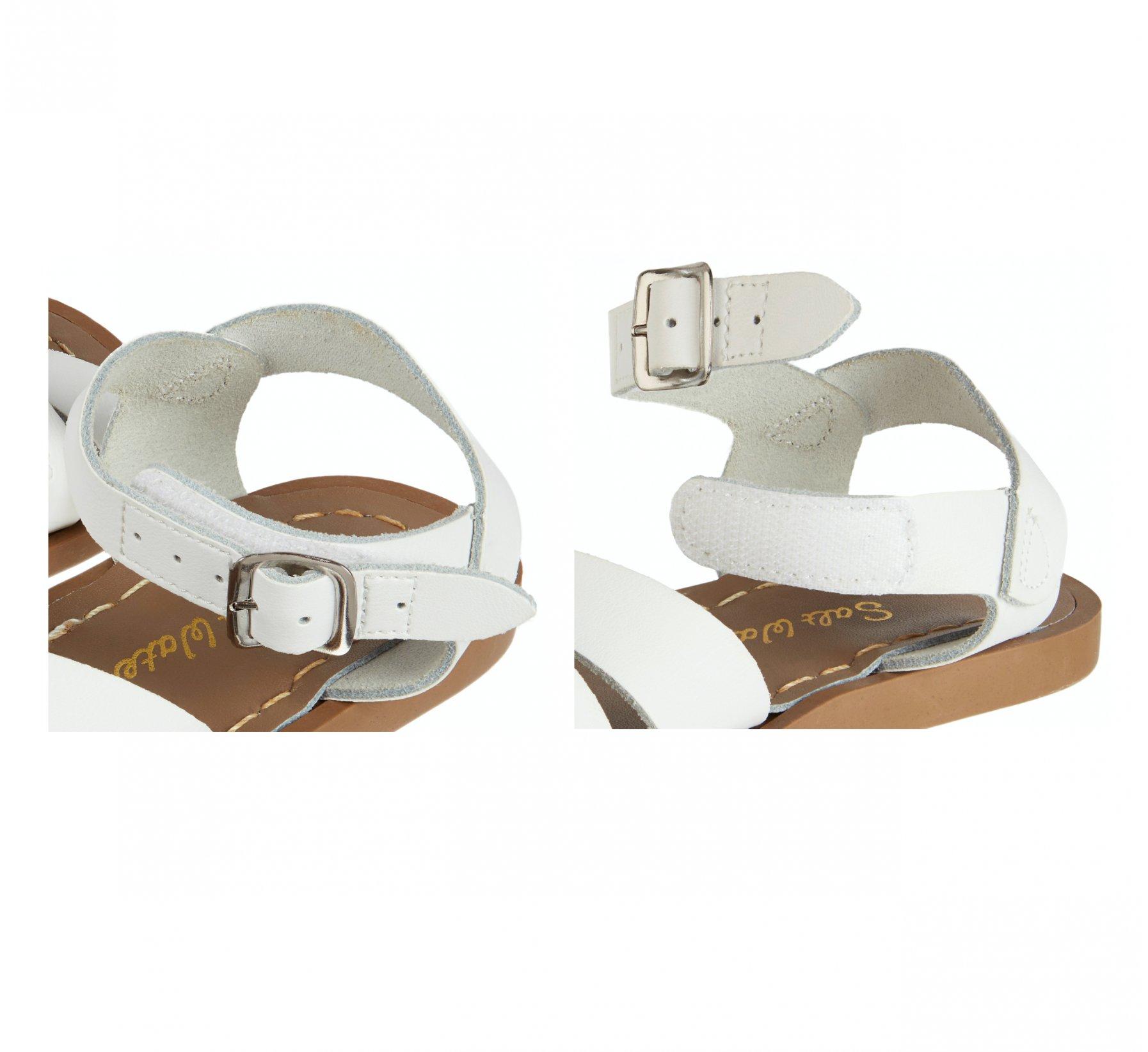 Retro White  - Salt Water Sandals