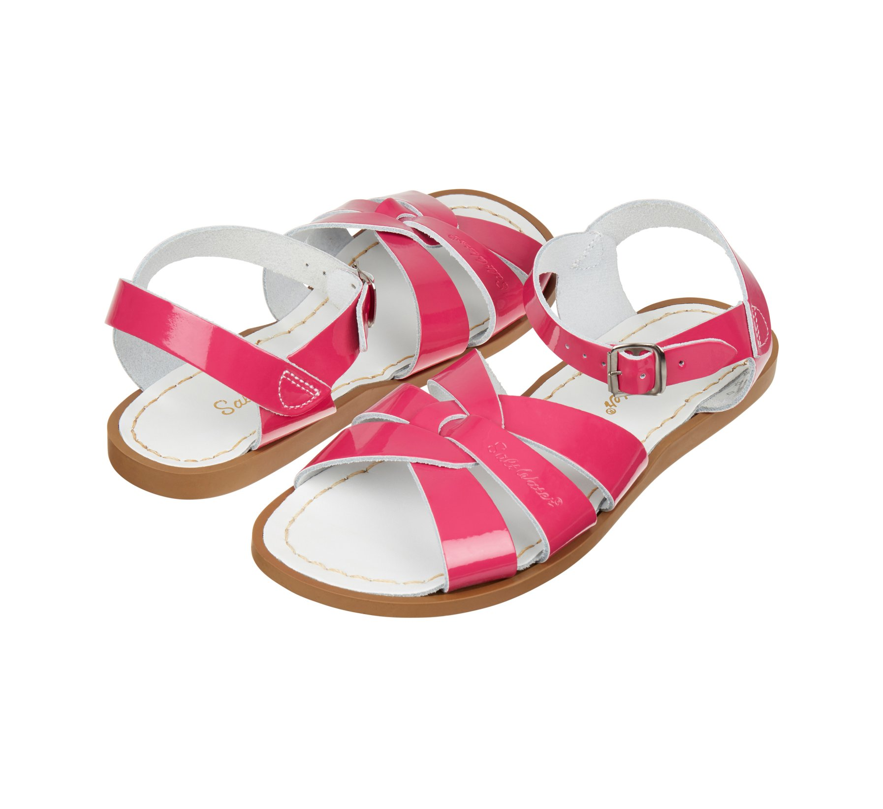 Original Fuchsia Berkilat - Salt Water Sandals