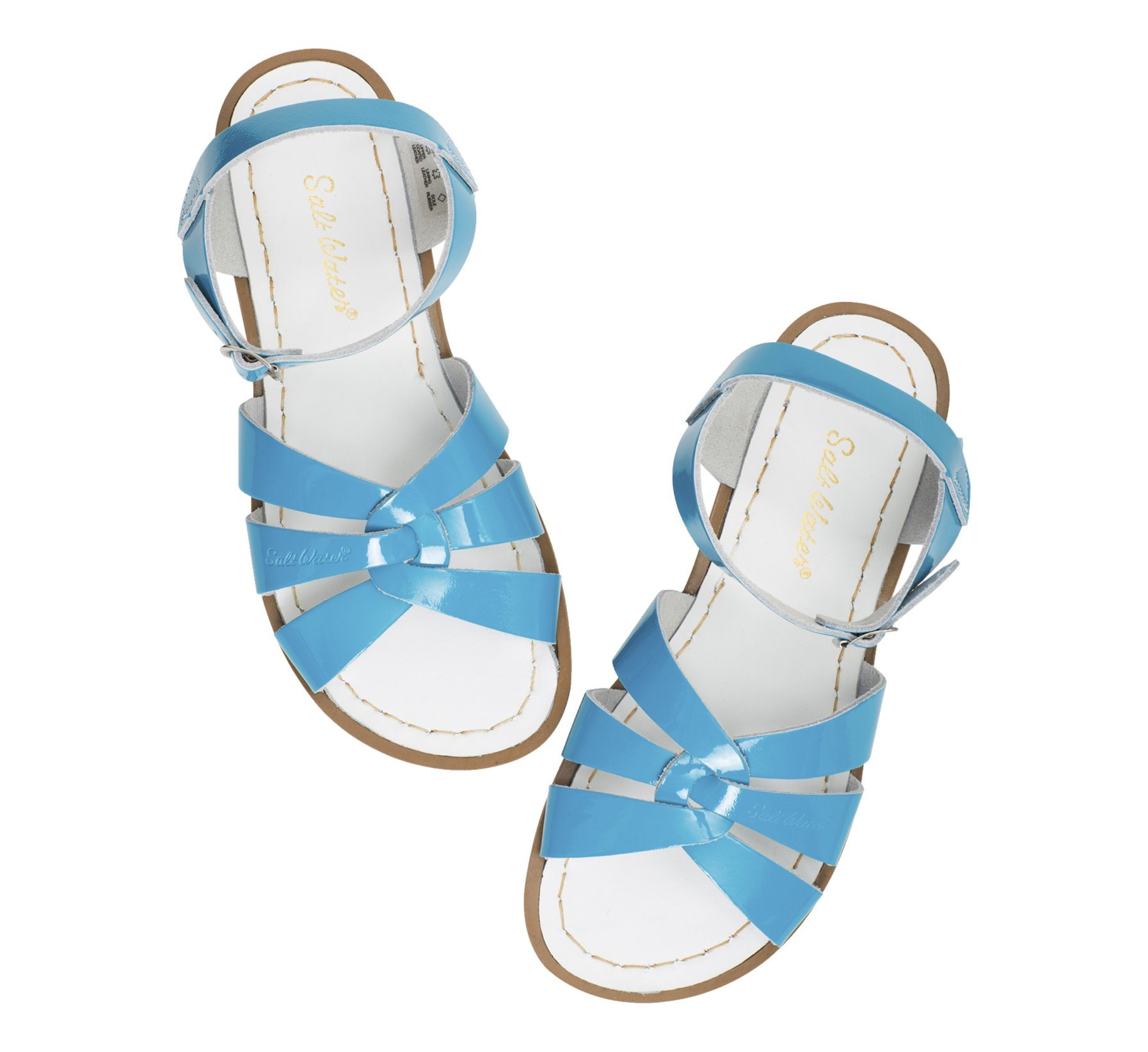 Original Shiny Turquoise  - Salt Water Sandals
