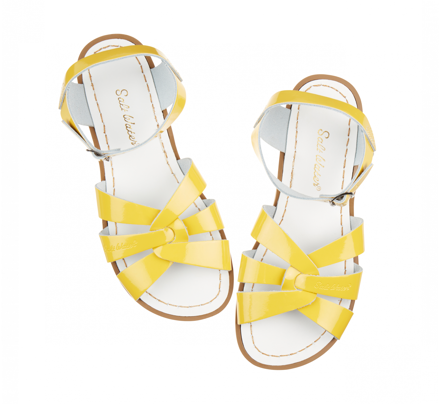 Original Shiny Yellow - Salt Water Sandals