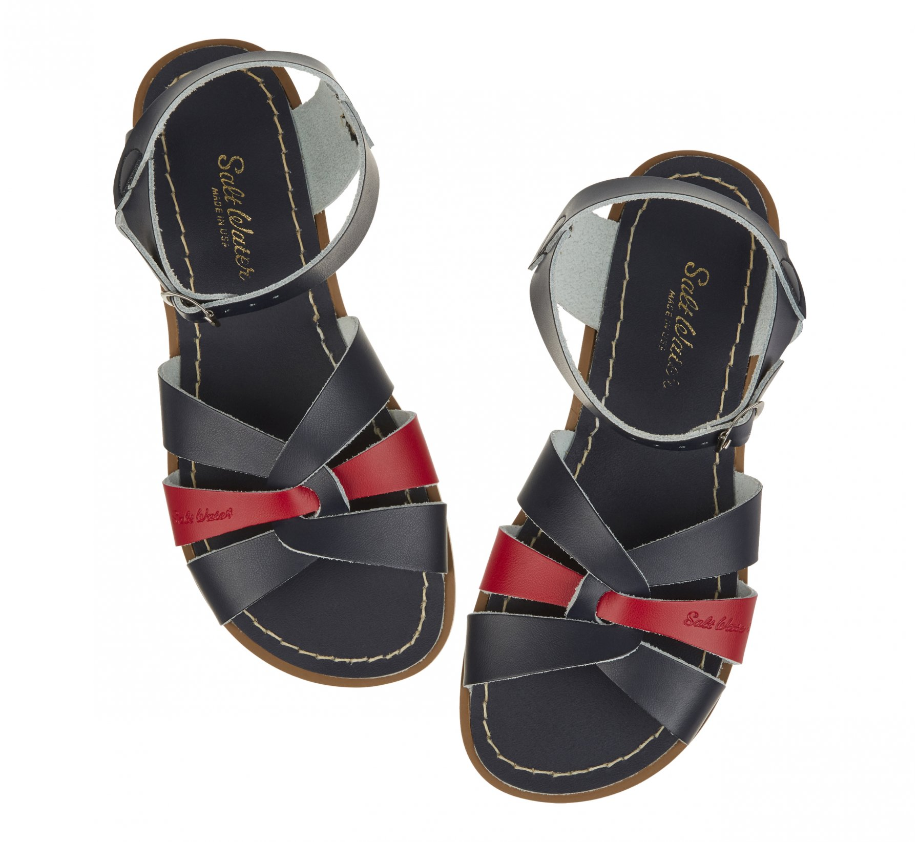 Original Mash-up Breton Rouge  - Salt Water Sandals