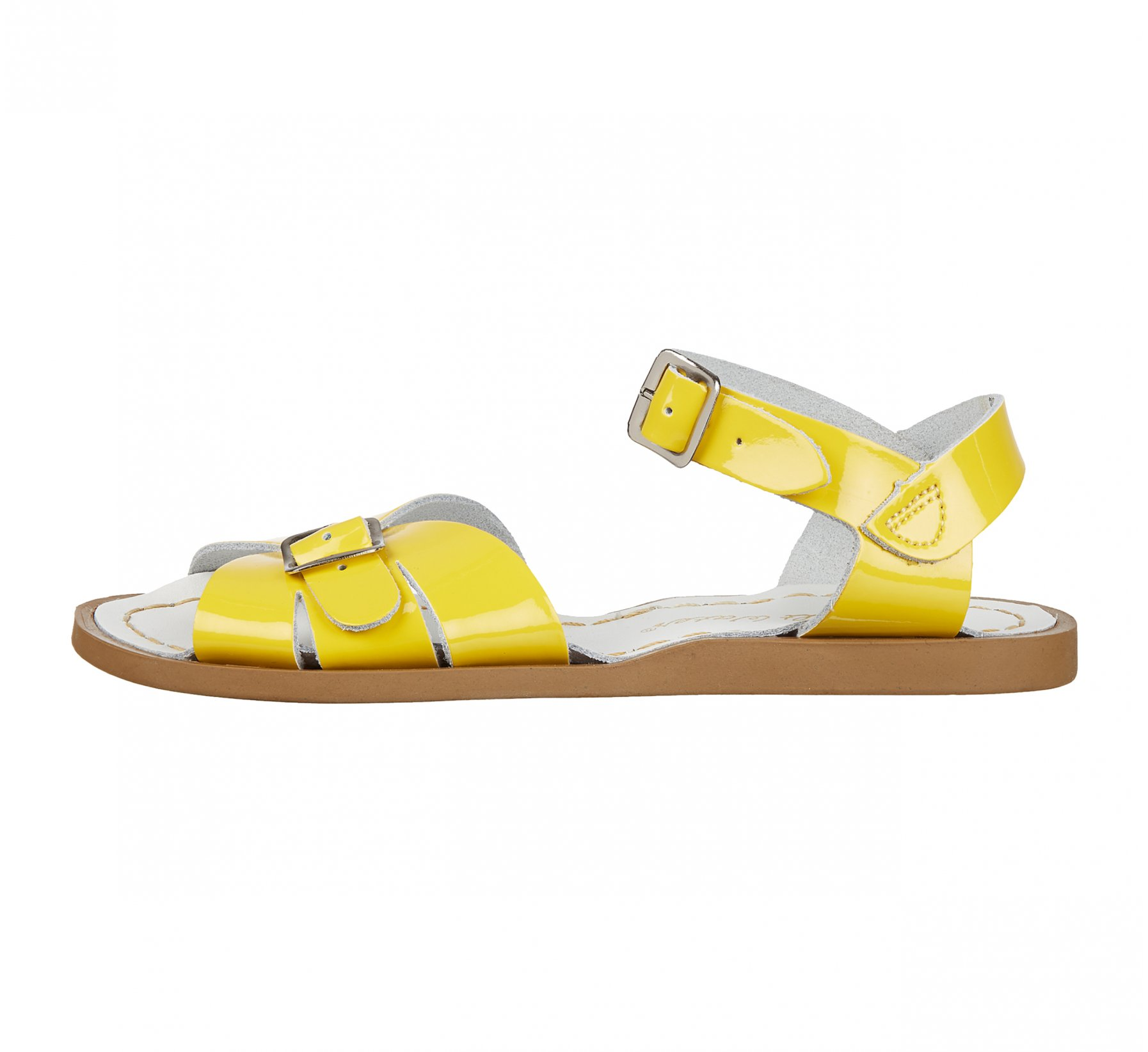Classic Shiny Yellow - Salt Water Sandals