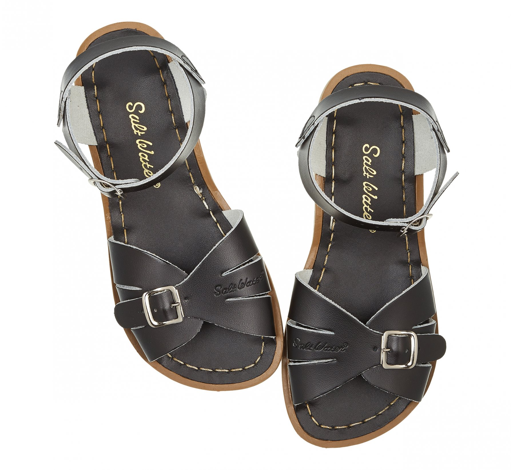Classic Black  - Salt Water Sandals