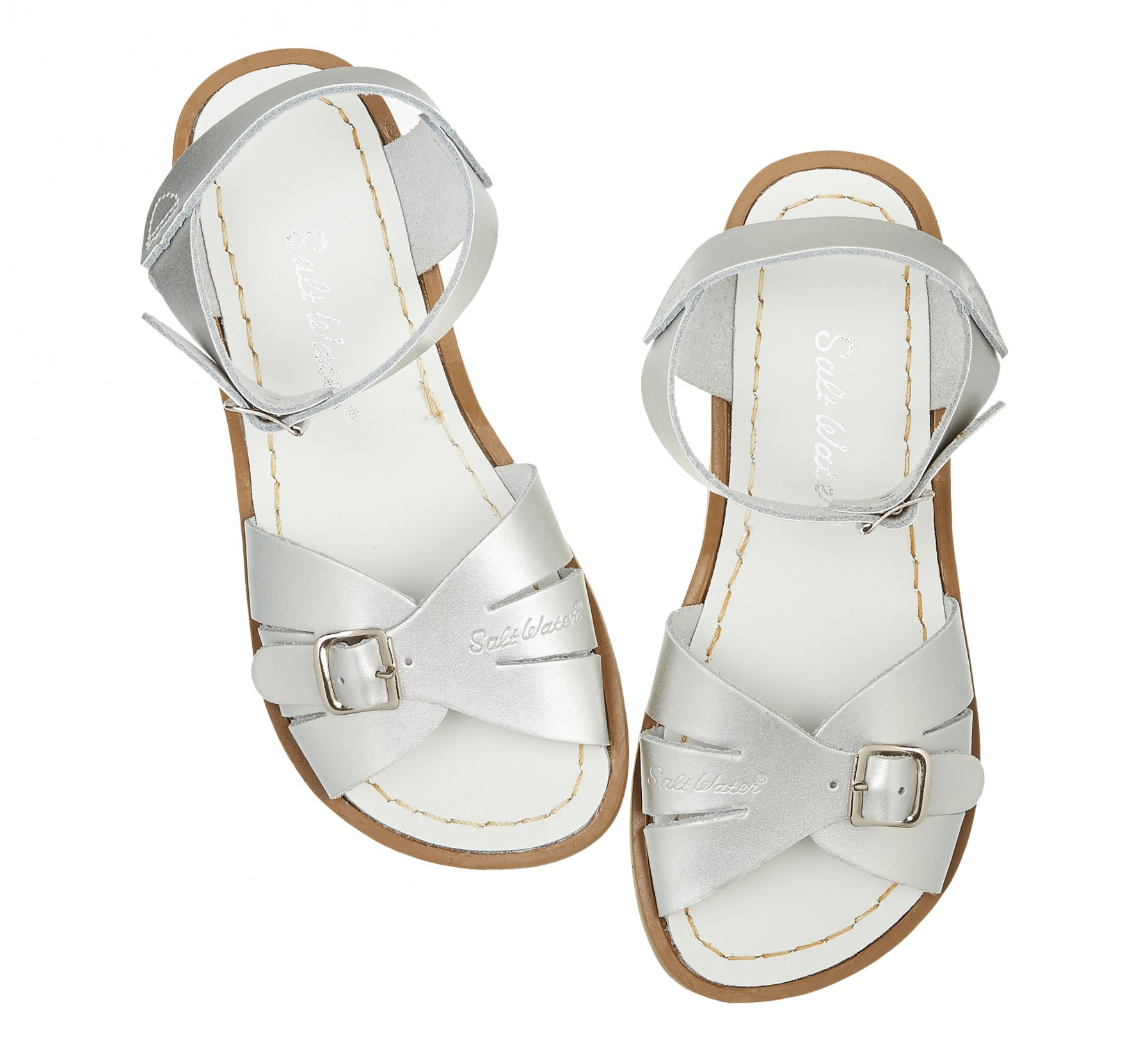 Classic Silver  - Salt Water Sandals