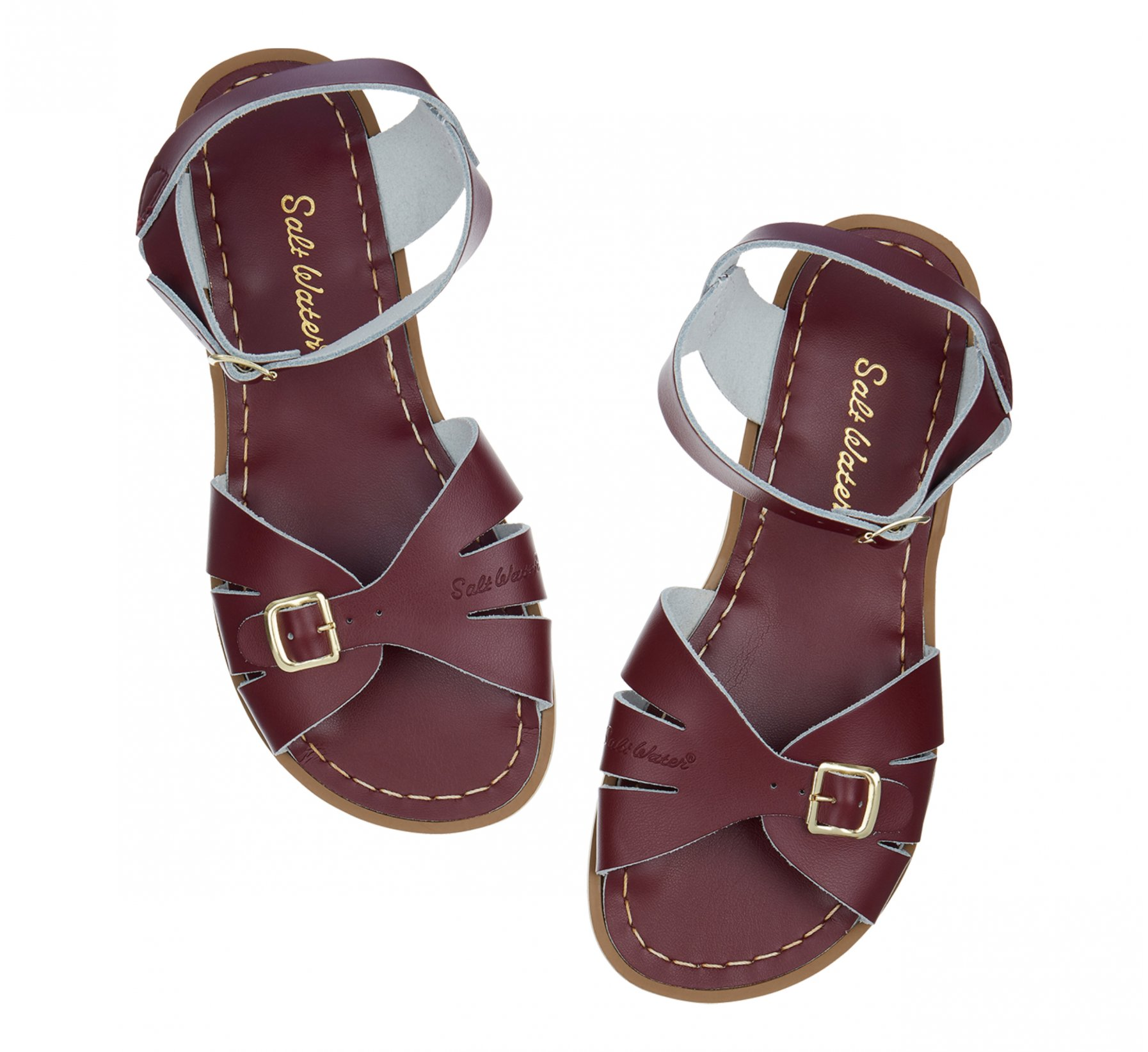 Classic Claret - Salt Water Sandals
