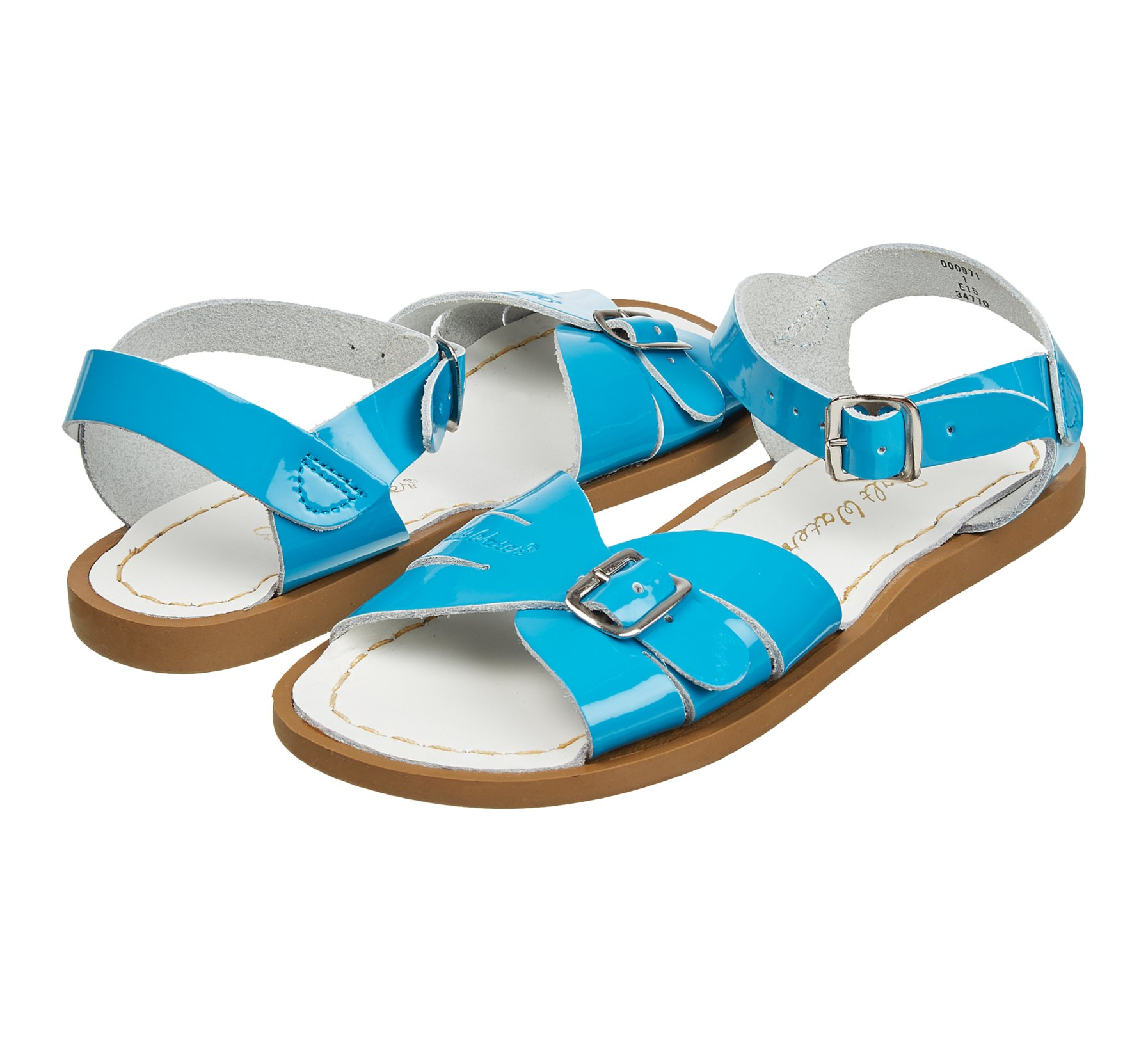 Classic Shiny Turquoise  - Salt Water Sandals