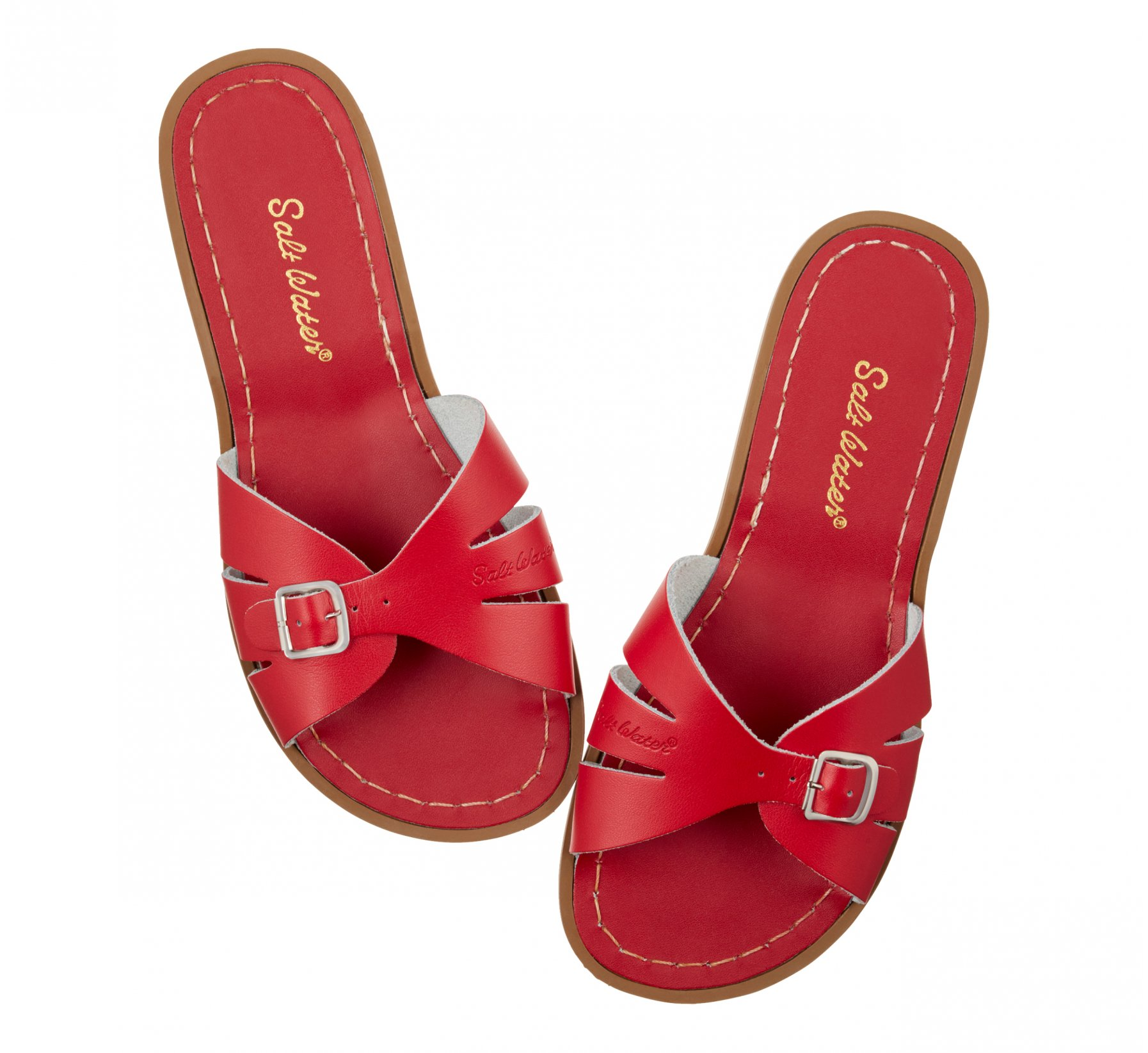 Classic Slide Merah - Salt Water Sandals