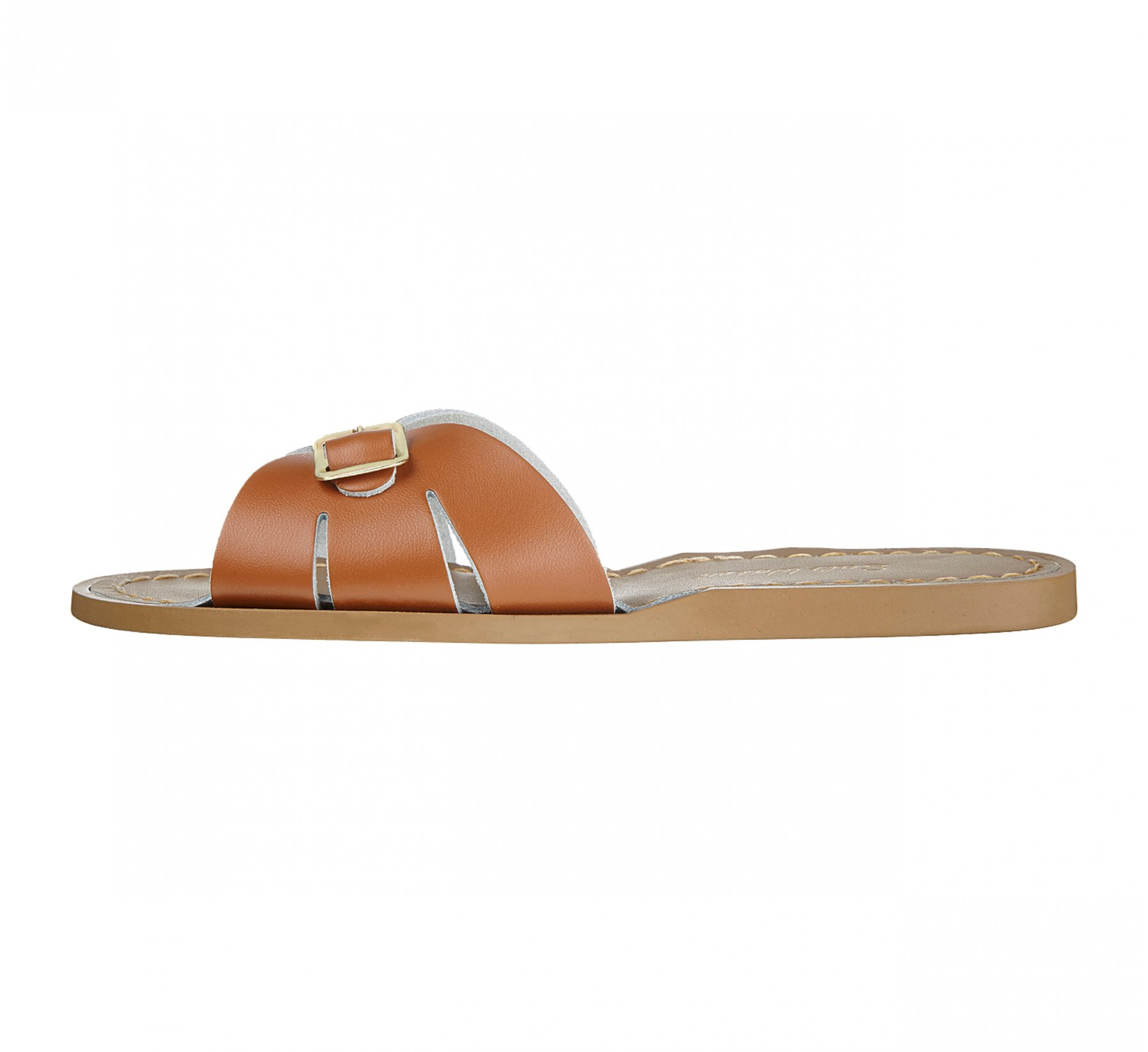 Classic Slide Brun Roux - Salt Water Sandals