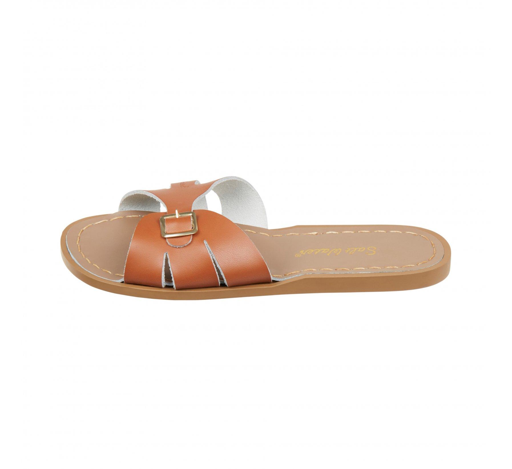 Classic Slide Tan  - Salt Water Sandals