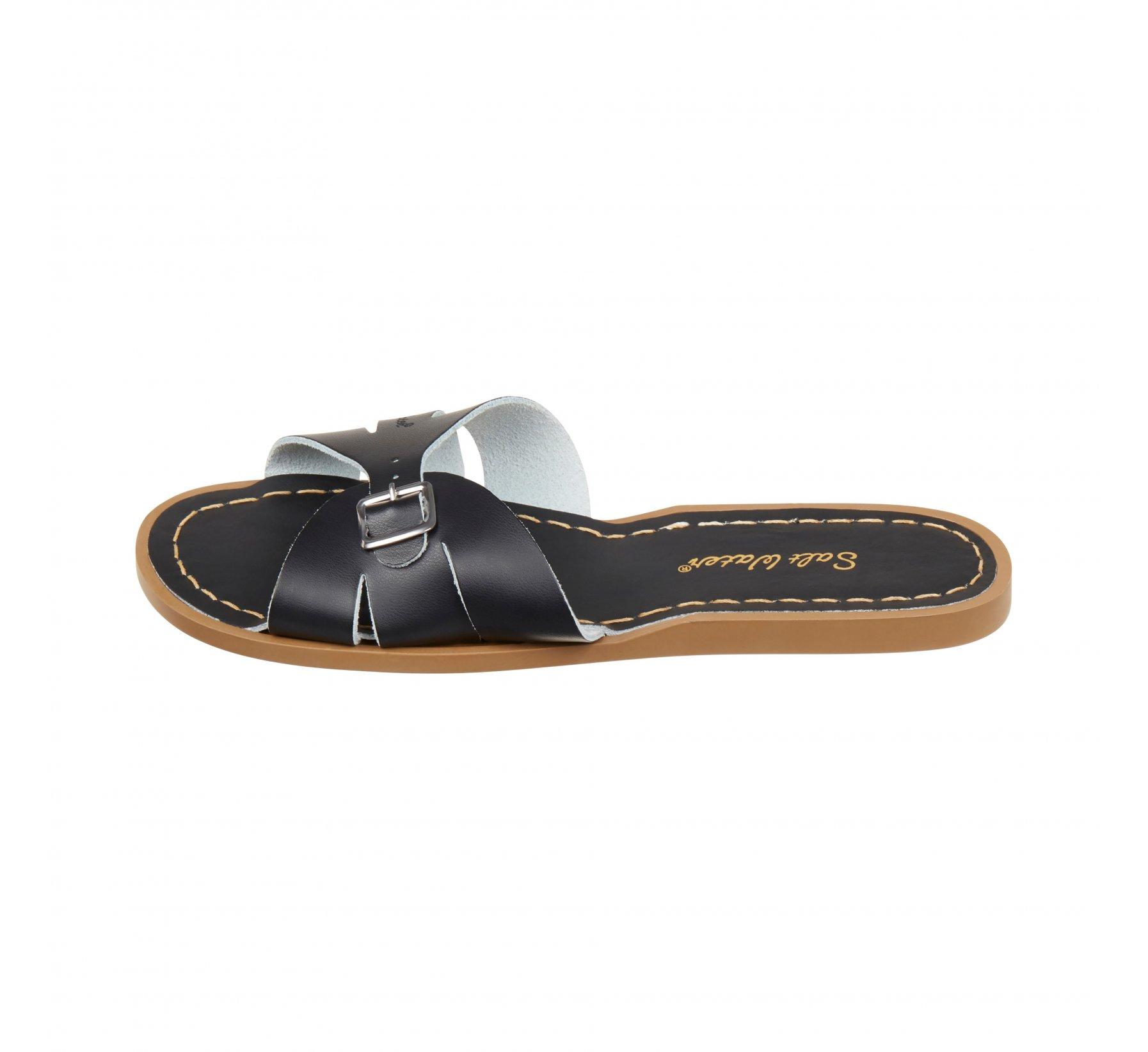 Classic Slide Black - Salt Water Sandals