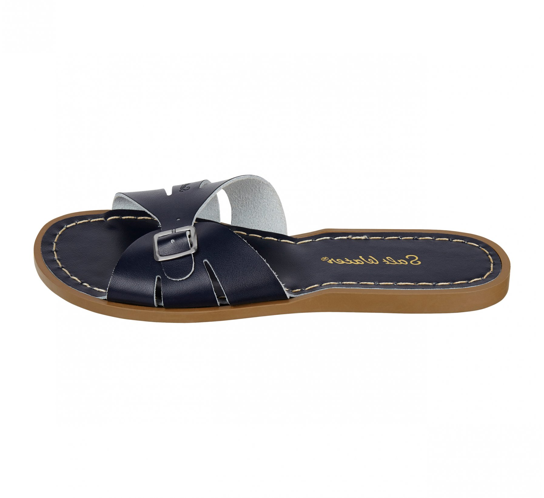 Classic Slide Biru Kelasi - Salt Water Sandals