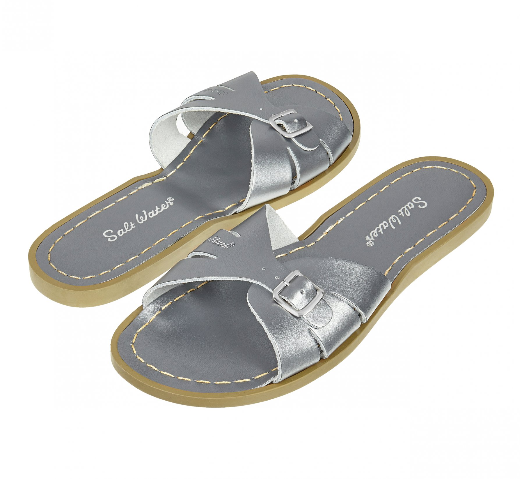 Classic Slide Piuter - Salt Water Sandals