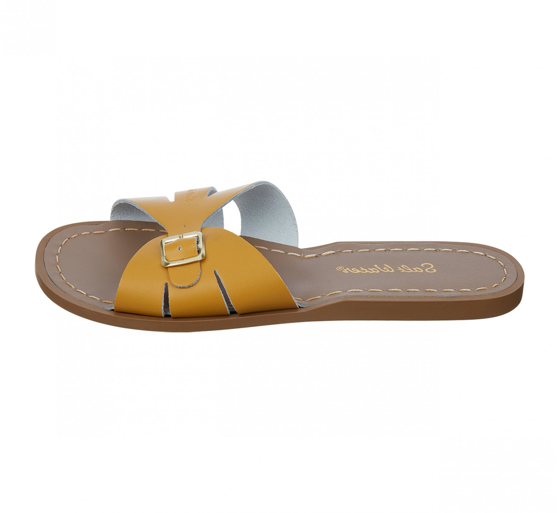 Classic Slide Mustard - Salt Water Sandals