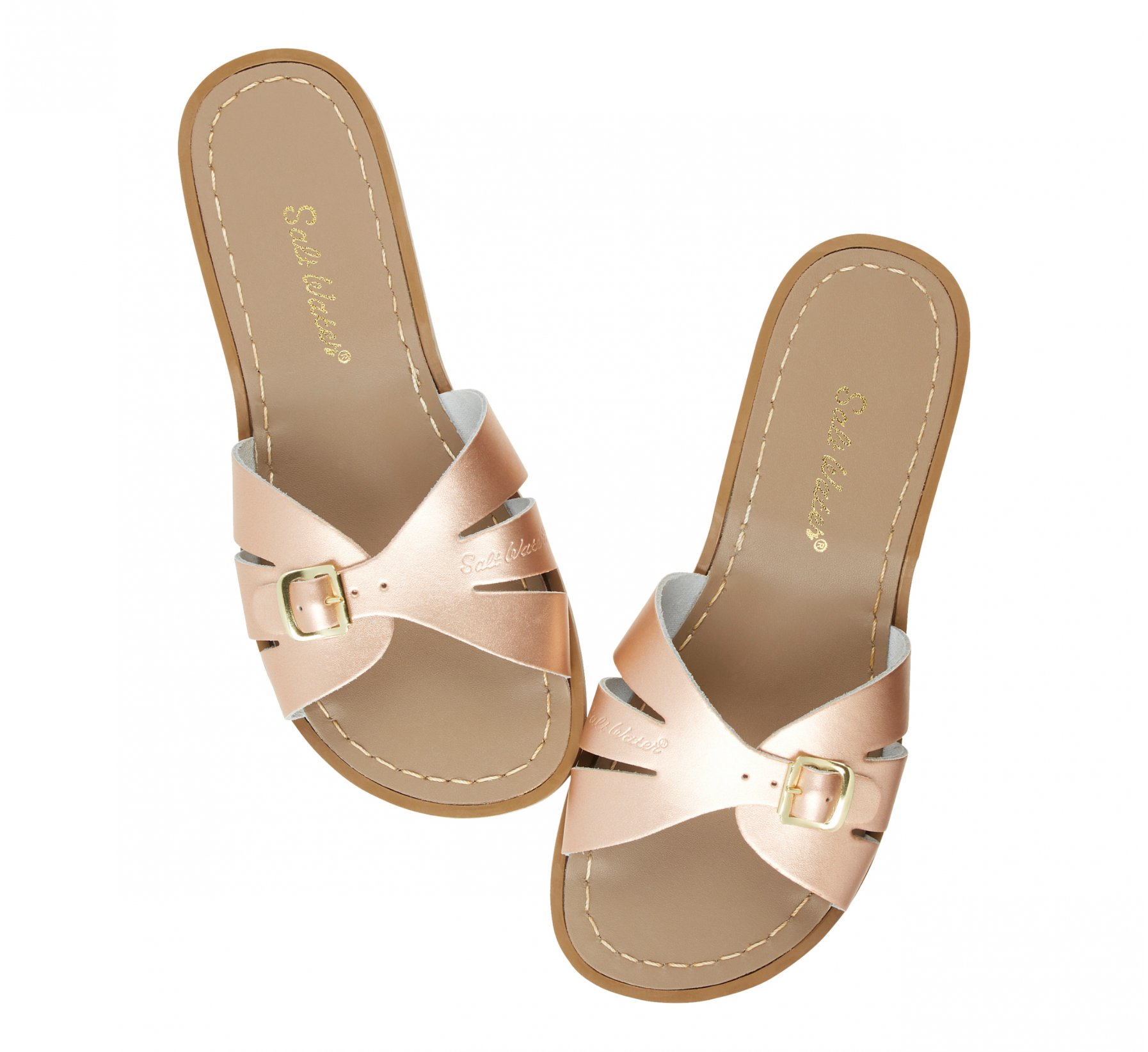 Classic Slide Rose Gold - Salt Water Sandals
