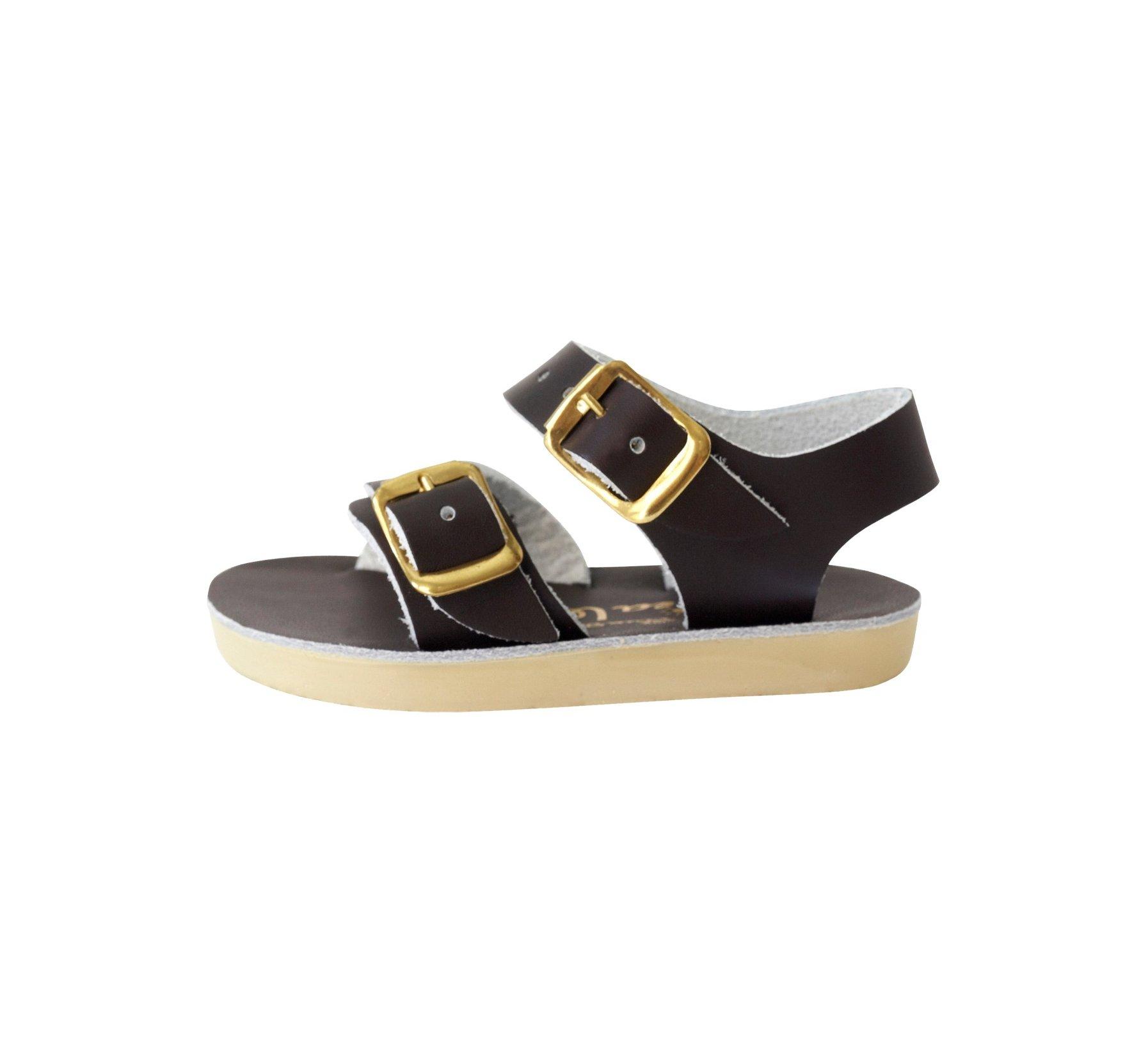 Seawee in Braun - Salt Water Sandals