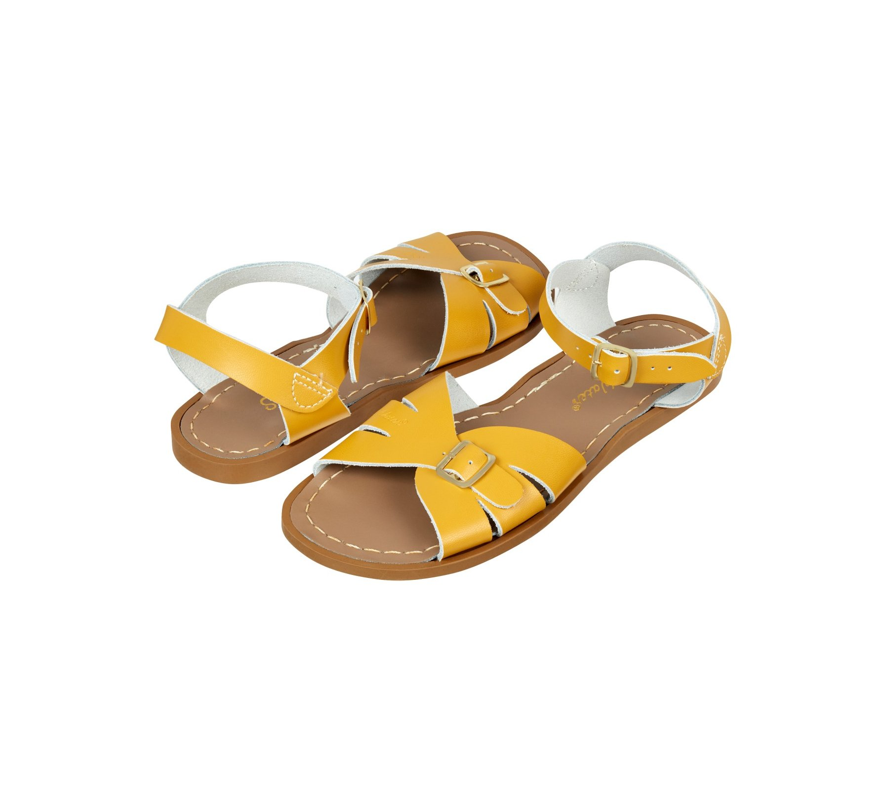 Classic in Senfgelb - Salt Water Sandals