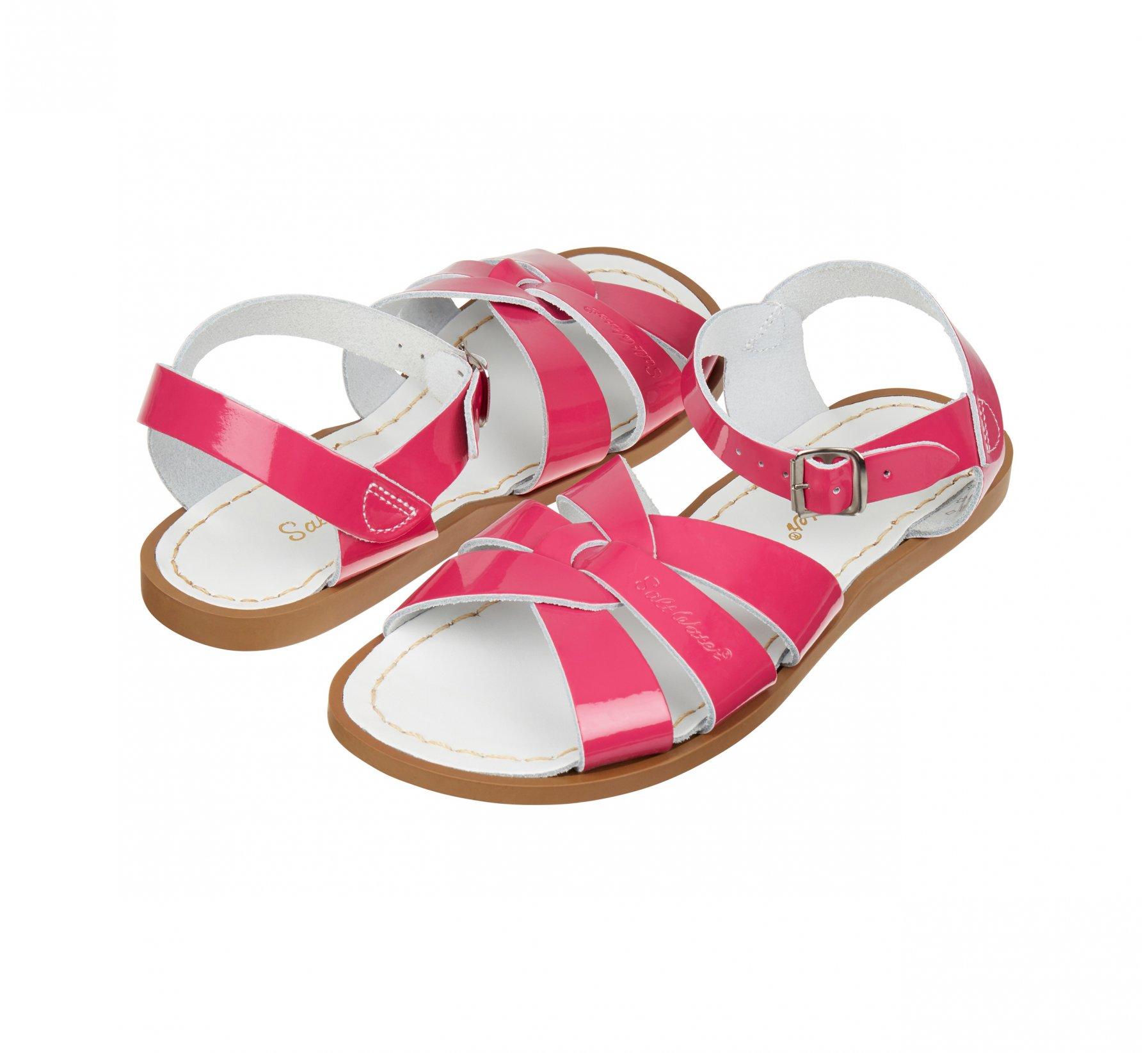 Original Shiny Fuchsia  - Salt Water Sandals