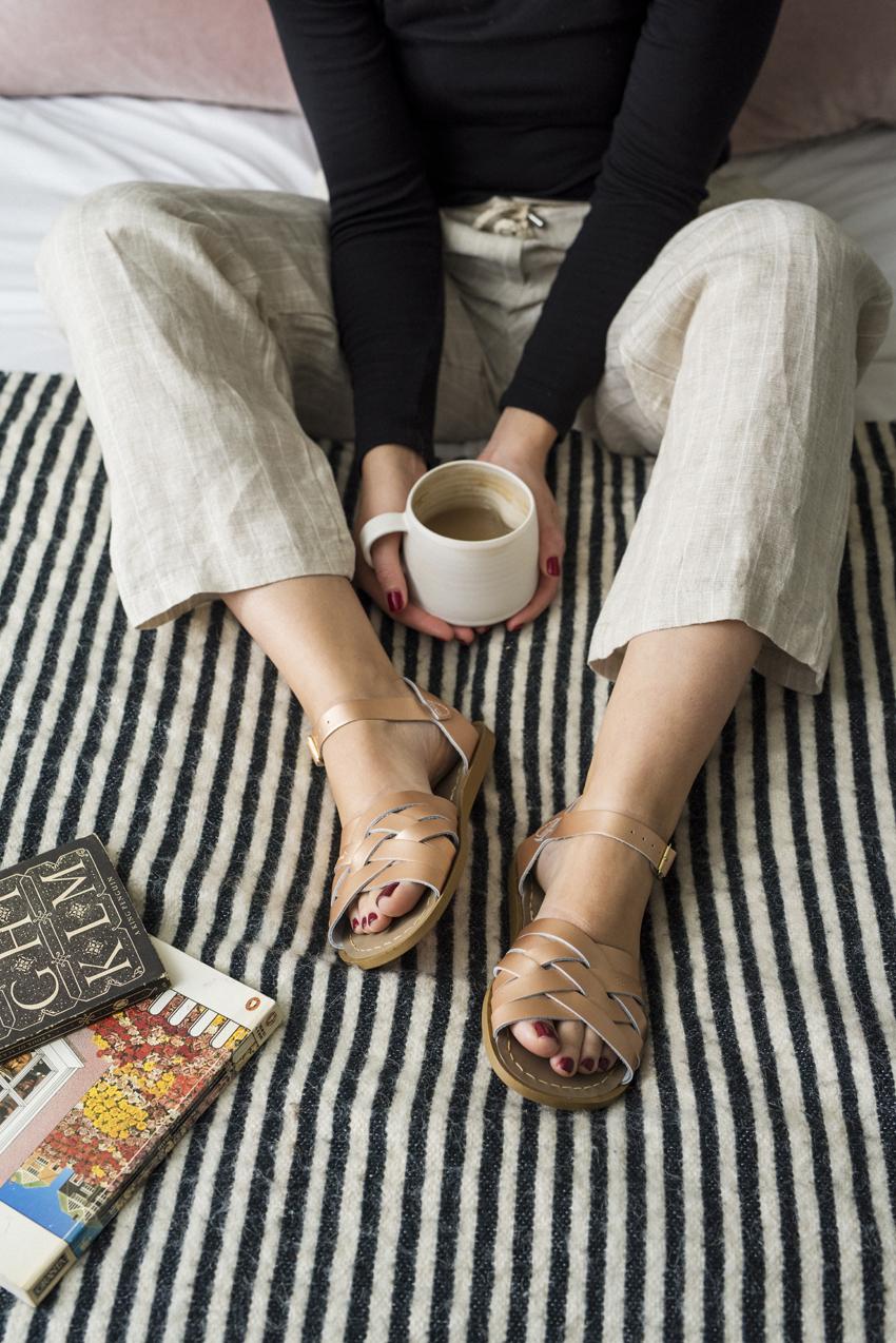 Salt-Water Sandals - Metallic Collection